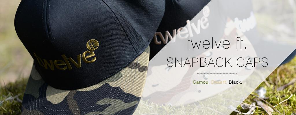 twelve ft. Snapback Caps