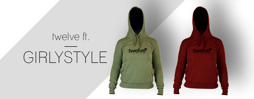 twelve ft. Girly Hoodies